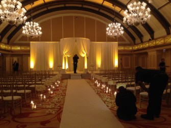 Wedding Drape at JW Marriott